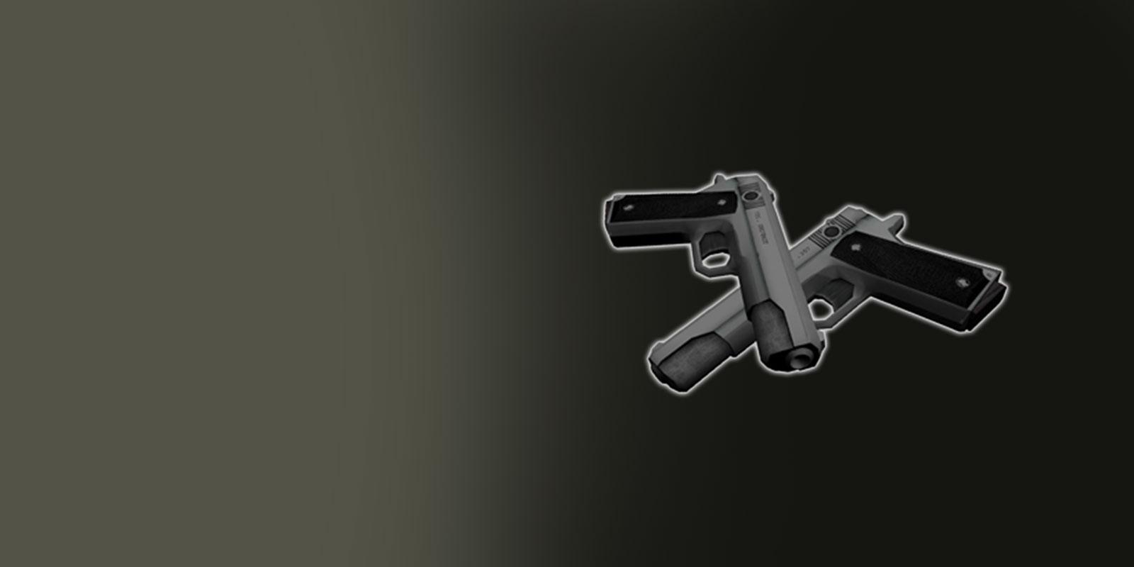Les pistolets