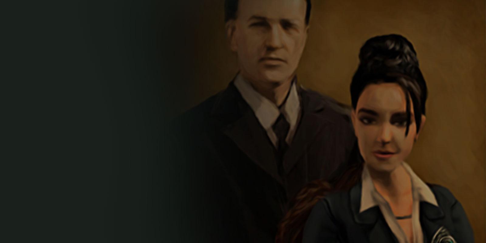Amélia et Richard Croft