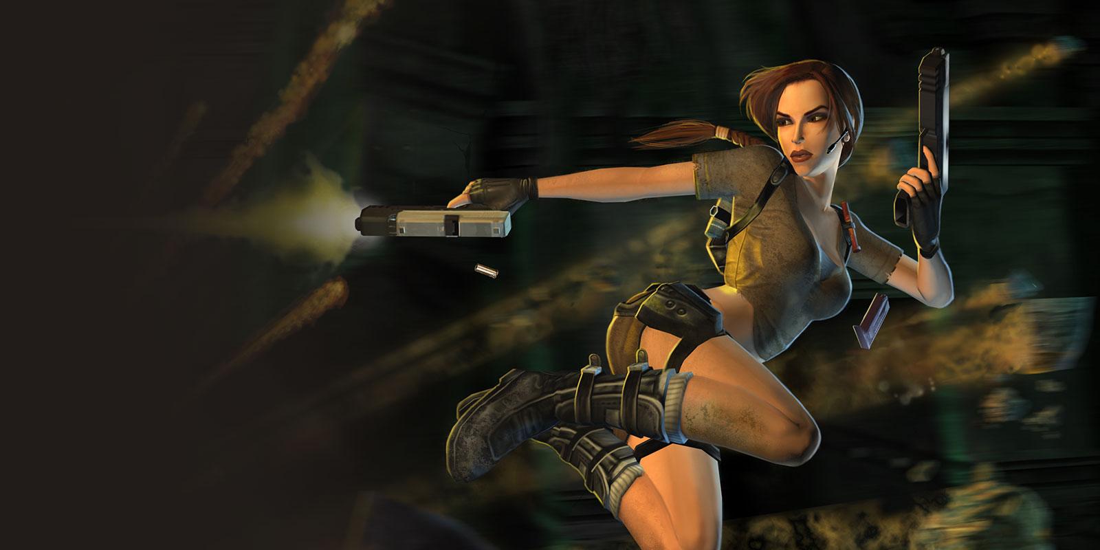 Les personnages Tomb Raider Legend