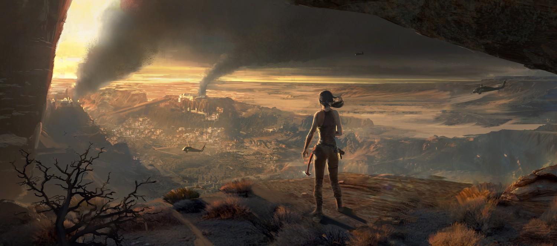 L'endroit est une zone de guerre mais est aussi riche d'un passé que Lara veut comprendre